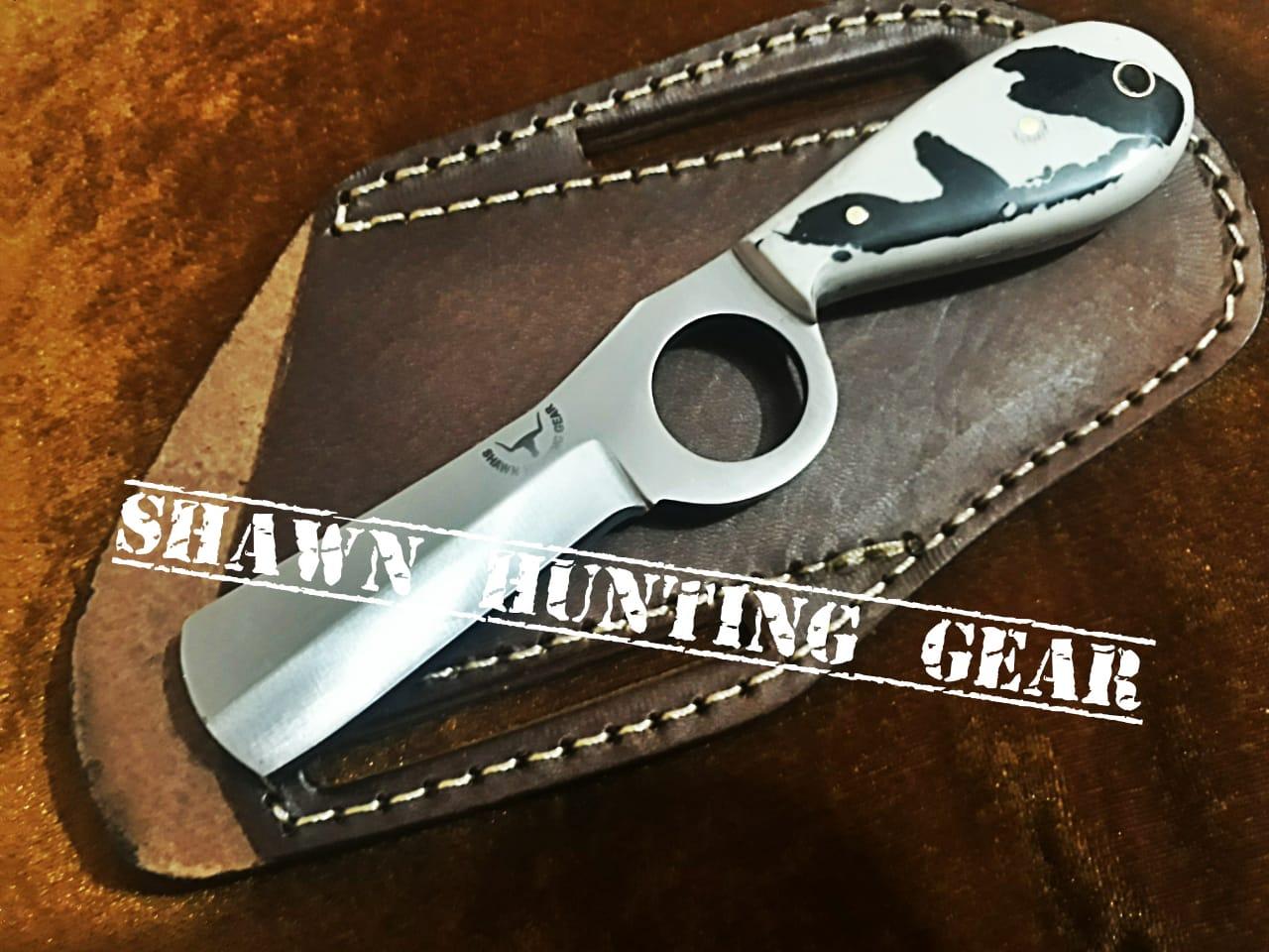 Cutngrow 75 Handmade Cowboy Bull Cutter Gorgeous Knife